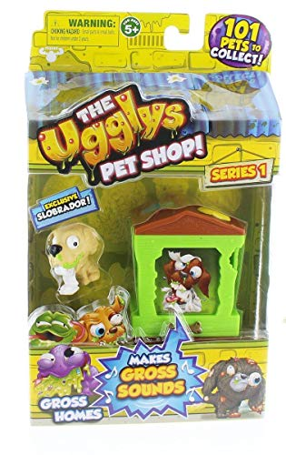 The Ugglys Pet Shop!, Series 1 Gross Homes, Doggy Dump with Exclusive...