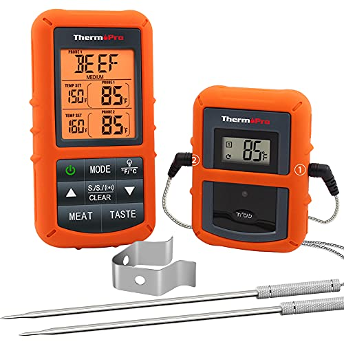 ThermoPro TP20 Wireless Remote Digital Cooking Food Meat Thermometer with...