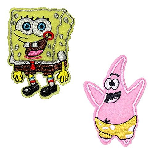 Sgucci Spongebob Squarepants Patrick Star Embroidery Patch Sewing/Ironing...