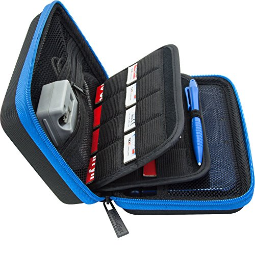 BRENDO Carrying Case for Nintendo 2DS XL, 3DS XL, 3DS Case, Fits Wall...