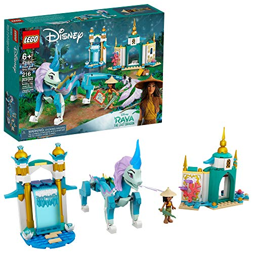 LEGO Disney Raya and Sisu Dragon 43184; A Unique Toy and Building Kit; Best...