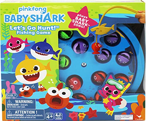 Pinkfong Baby Shark Let's Go Hunt Musical Fishing Game, for Families and...