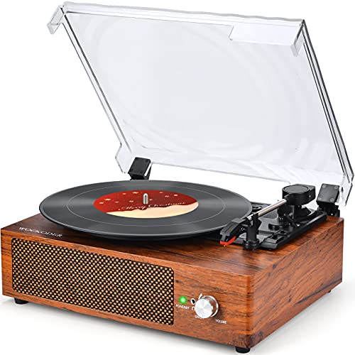 Record Player Turntable Vinyl Record Player with Speakers Turntables for...