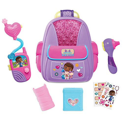 Doc McStuffins First Responders Backpack Set, by Just Play