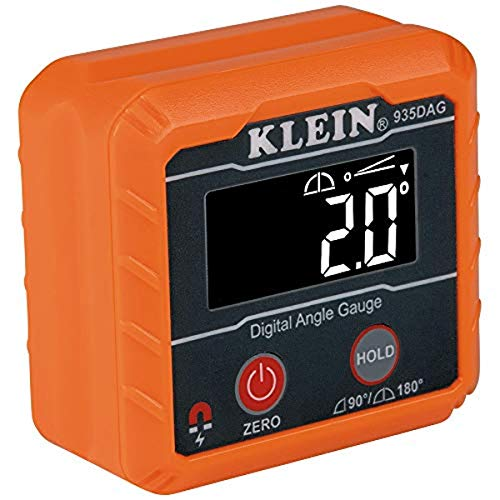 Klein Tools 935DAG Digital Electronic Level and Angle Gauge, Measures 0 -...