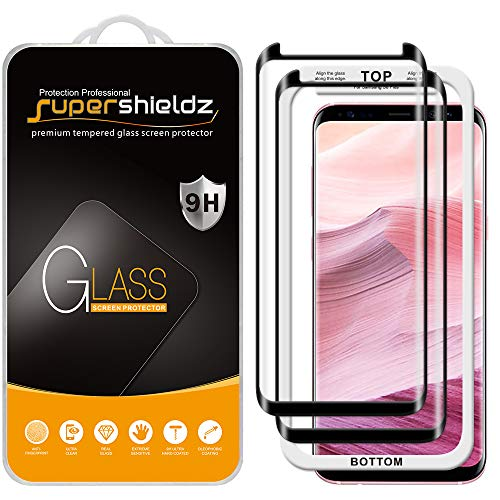 (2 Pack) Supershieldz Designed for Samsung (Galaxy S8 Plus) Tempered Glass...