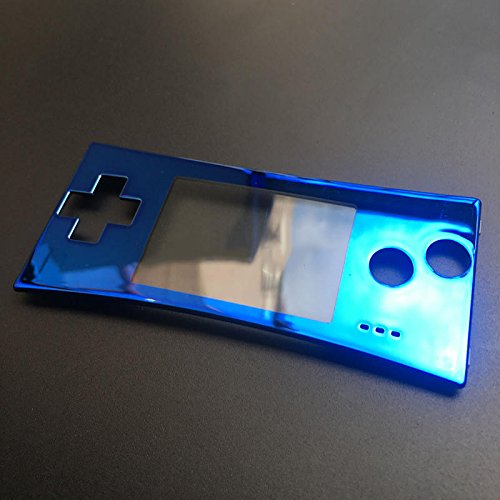 Replacement For GameBoy Micro GBM Front Faceplate Cover Case Upper Panel...