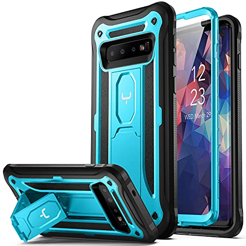 YOUMAKER Case for Galaxy S10, Kickstand Case with Built-in Screen Protector...