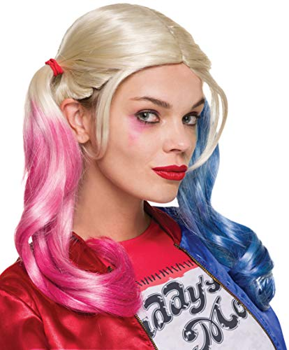 Rubie's Costume Co. Women's Suicide Squad Harley Quinn Value Wig, As Shown,...