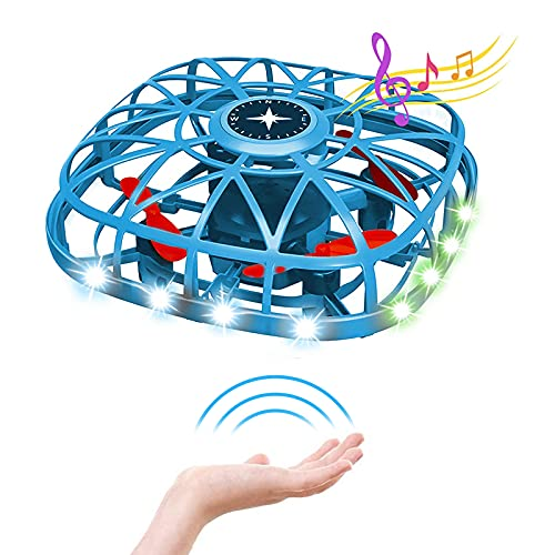 Drone for Kids Adults - Hand Operated Mini Drones Infrared Induction Indoor...