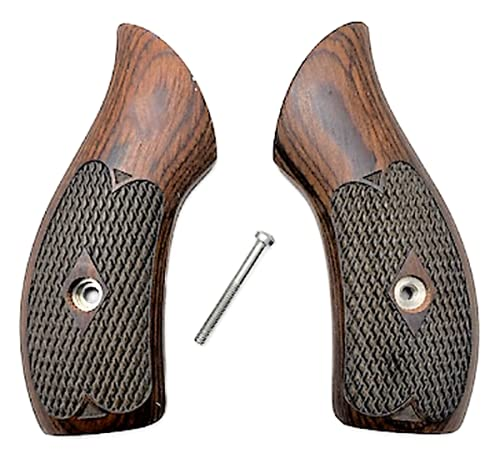 Premium Gun Grips Compatible Replacement for Smith & Wesson Checkered...