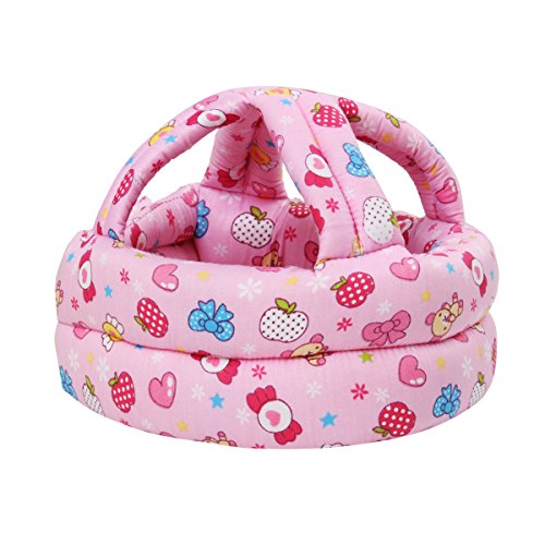 FLYPARTY Adjustable Infant Baby Toddler Protective Hat Helmet Safety Cap...