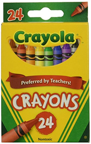 Wholesale: One Case of Crayola Crayons 24 Count (Case Contains 48 Boxes),...