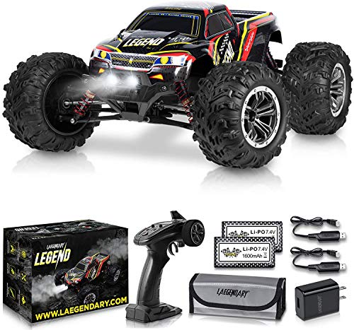 1:10 Scale Large RC Cars 50+ kmh Speed - Boys Remote Control Car 4x4 Off...