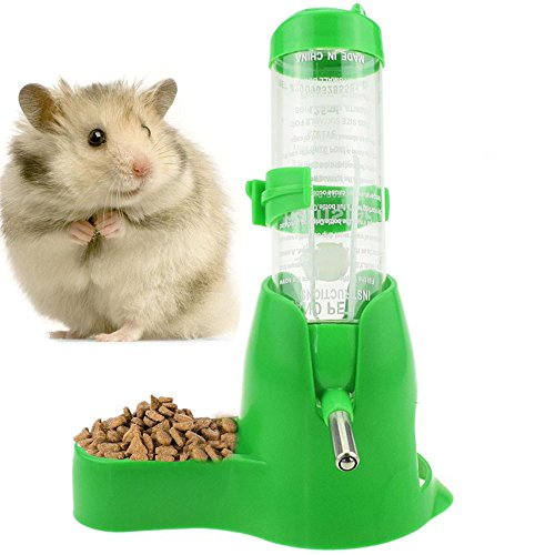125ml/4.2ozPet Drinking Bottle with Food Container Base Hanging Water...