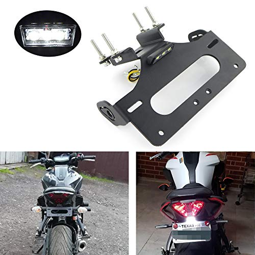 Xitomer Tail Tidy, Fender Eliminator Fit for Yamaha FZ-07 MT-07 2014 2015...