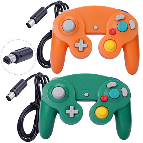ONE250 2 Pack Classic Shock Joypad Wired Controller, Compatible with Wii...