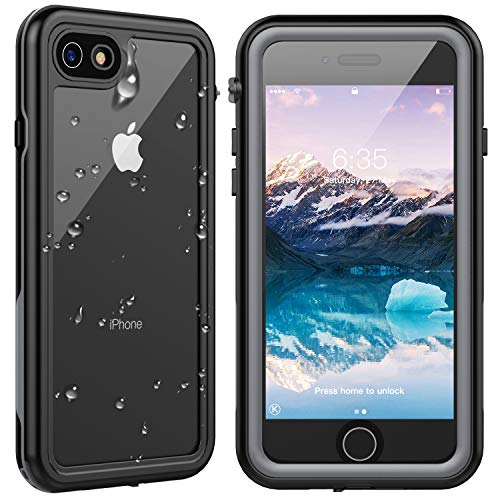 SPIDERCASE for iPhone SE 2020 Case/iPhone 8/7 Waterproof Case, Built-in...
