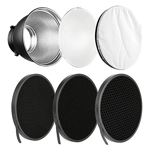 Soonpho 7' Standard Reflector Diffuser Lamp Shade Dish with 10° /30°/...