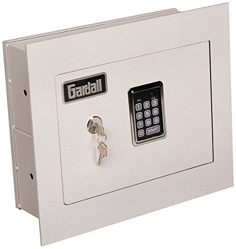 Gardall WS1314-T-EK 4' Concealed Wall Safe with Single Key and Electronic...