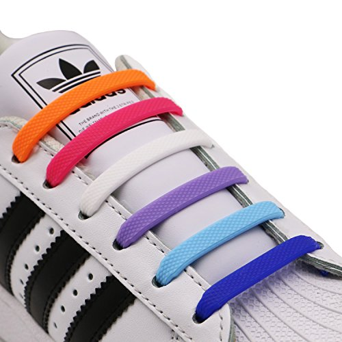 INMAKER No Tie Shoe Laces for Adults and Kids, Elastic Shoelaces for...