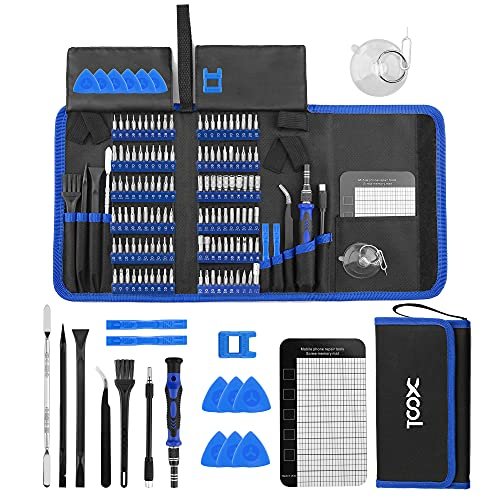 XOOL 140 in 1 Precision Screwdriver Set with 120 Bits Magnetic Driver Kit...