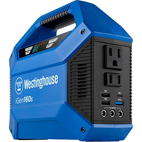 Westinghouse Outdoor Power Equipment iGen160s Portable Power Station and...