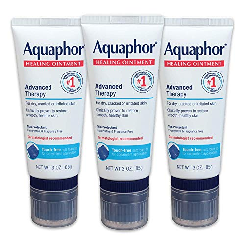 Aquaphor Healing Ointment With Touch-Free Applicator For Dry Chapped Skin,...