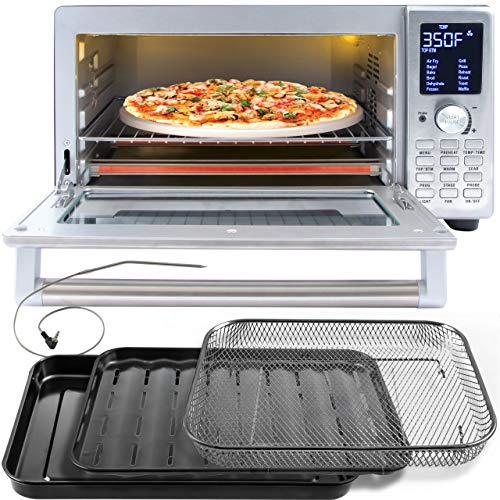 NUWAVE BRAVO XL 1800-Watt Convection Oven with Crisping and Flavor Infusion...