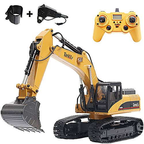 rc Excavator 1580toy for Adults 1:14 rc Construction Vehicles Remote...