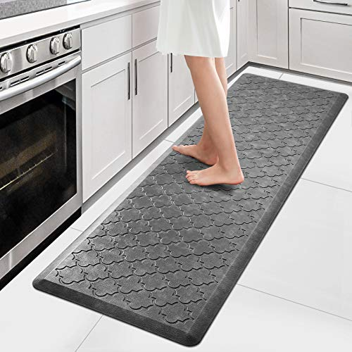 WiseLife Kitchen Mat Cushioned Anti Fatigue Floor Mat,17.3'x60', Thick Non...