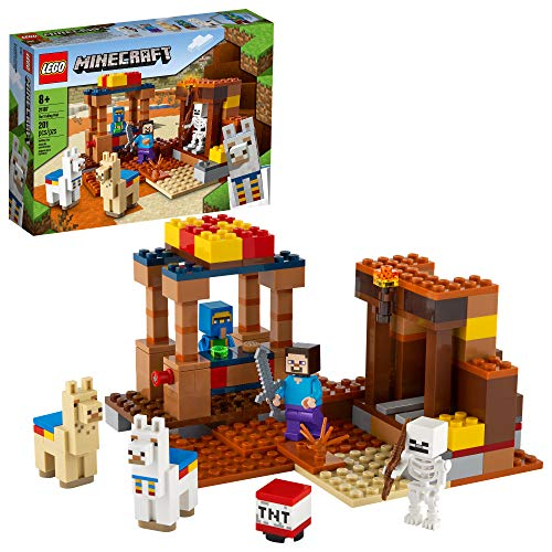 LEGO Minecraft The Trading Post 21167 Collectible Action-Figure Playset...