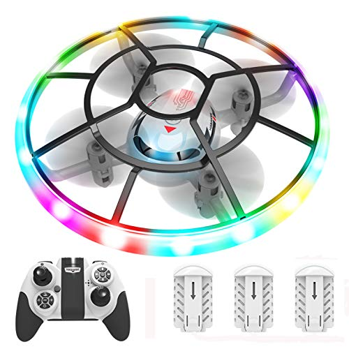 HASAKEE Q7 Mini Drone for Kids,RC Helicopter Quadcopter with Altitude...