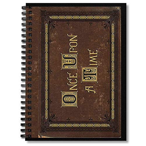 Spiral Notebook Once Upon A Time Merchandise Composition Notebooks Journal...