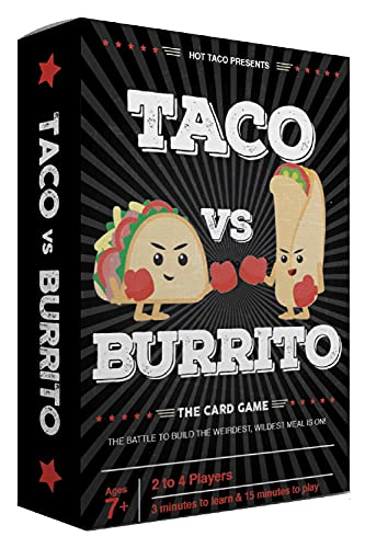 Taco vs Burrito - The Wildly Popular and Surprisingly Strategic Card Game...