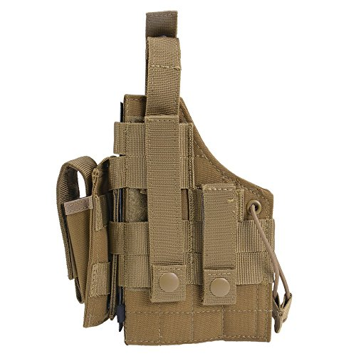 Condor H-1911 Ambidextrous Holster - Coyote - H-1911-498 - New - MOLLE PALS