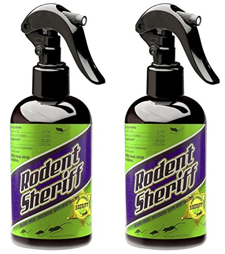 Rodent Sheriff Pest Control - Ultra-Pure Peppermint Spray - Repels Mice,...