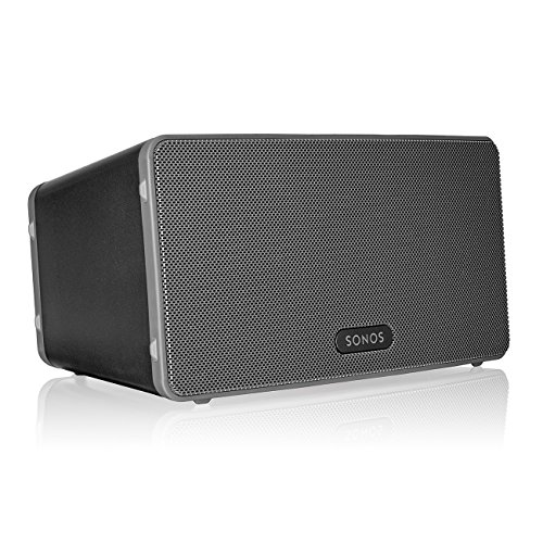 Sonos Play:3 - Mid-Sized Wireless Smart Home Speaker for Streaming Music,...