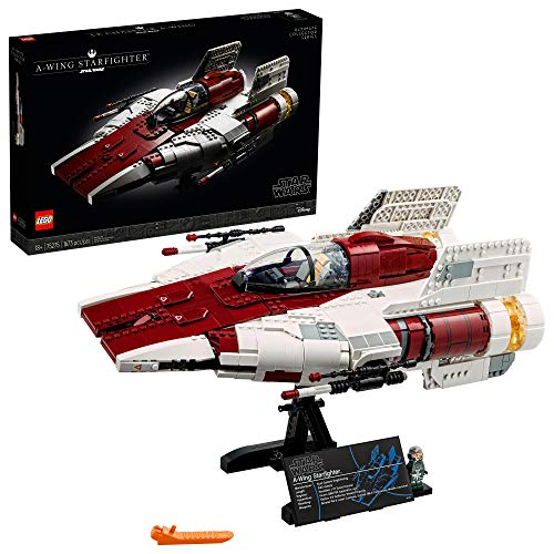 LEGO Star Wars A-Wing Starfighter 75275 Building Kit; Collectible Building...