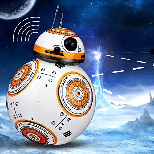 Kikioo Upgrade Intelligent RC BB 8 Robot 2.4G Remote Control with Sound and...