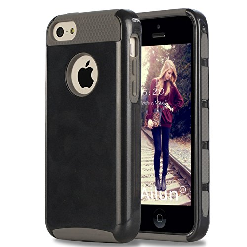 Ailun Phone Case Compatible with iPhone 5C Soft TPU Bumper Hard Shell Solid...
