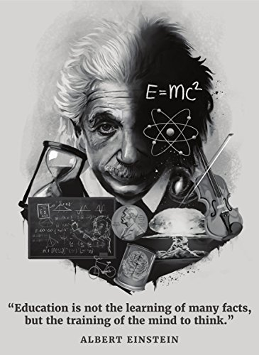 Palace Learning Albert Einstein Poster - Inspirational and Motivational...