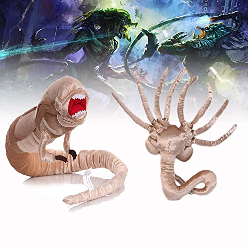 1/3 Pcs Alien Facehugger Plush,Chestburster Alien Toy for Collections and...