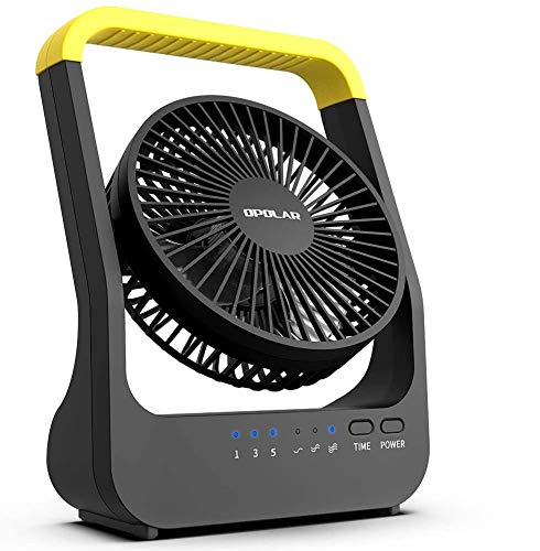 HomeMarvel Camping Fan, Battery Operated Fan, Powered by USB or 4 D...