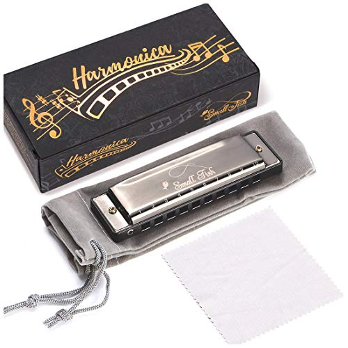 Harmonica for Kids, Toddlers, and Adults, Musical Instrument Toys for...