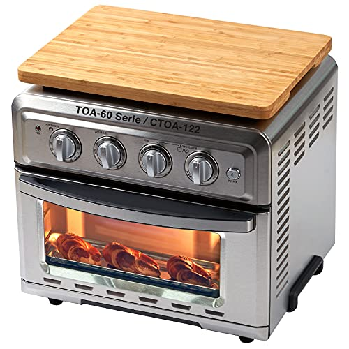 Wood Cutting Board for Convection Toaster Oven, Compatible with Cuisinart...