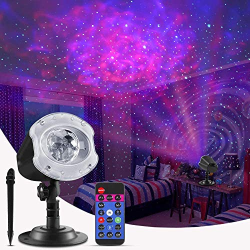 ECOWHO Christmas Laser Light Projector outdoor, 10 Colors Changing 2 in 1...