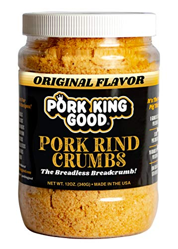 Pork King Good Low Carb Keto Diet Pork Rind Breadcrumbs! Perfect For...