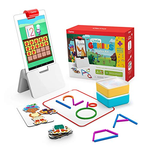 Osmo - Little Genius Starter Kit for Fire Tablet + Early Math Adventure - 6...