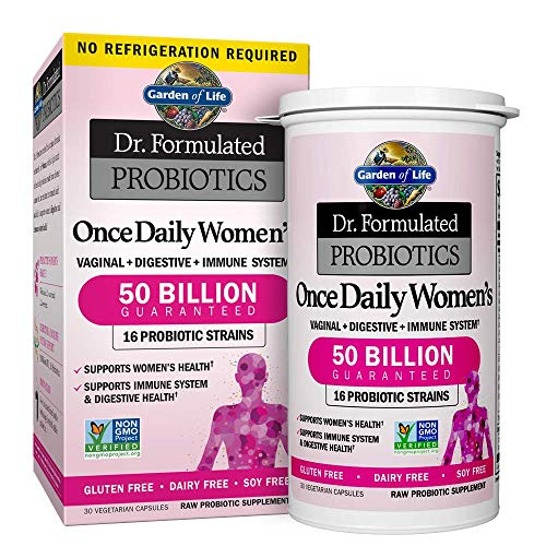 Garden of Life Probiotic Supplement Capsules for Women, Dr. Formulated Once...